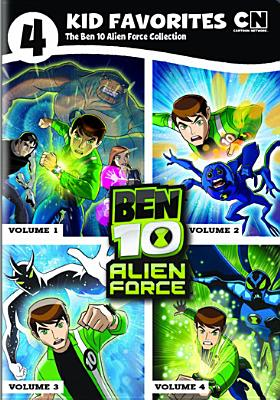 4 KID FAVORITES:BEN 10 ALIEN FORCE BY BEN 10 ALIEN FORCE (DVD)